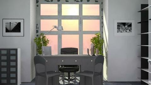 studio - Modern - Office - by catcarla