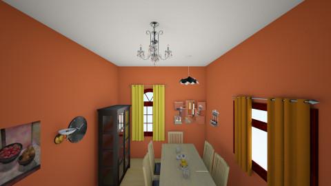 Dining Room - Dining room - by midnightmystery09