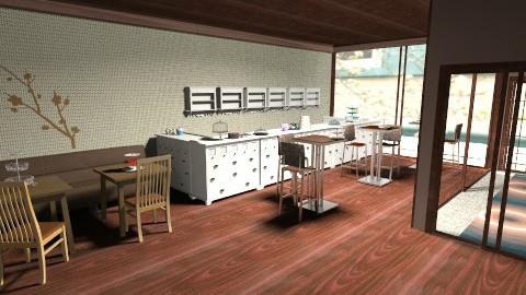 Choco Shop - Vintage - Kitchen - by HGranger2