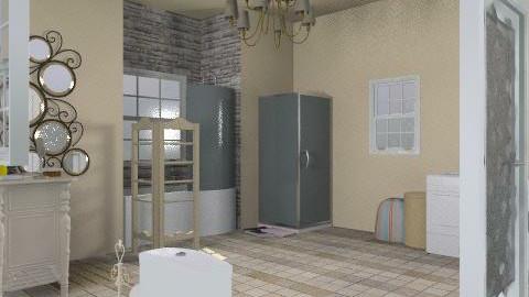 Eh . - Rustic - Bathroom - by candylandbabe94