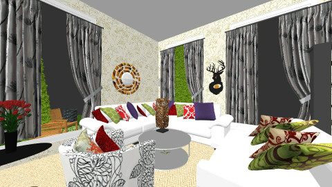 pop of pearl - Vintage - Living room - by Ntokozo Pearl