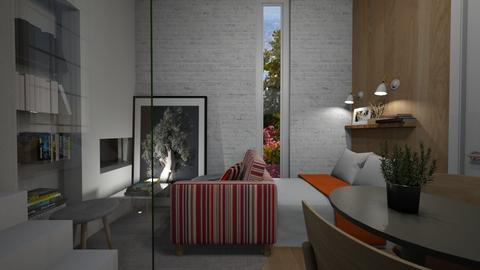 Casa355LivingandSleeping - Modern - Living room - by nickynunes