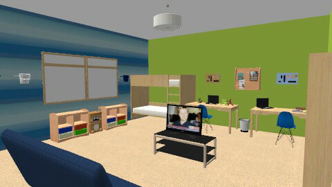 Boys' room - Modern - Bedroom - by Anna_m