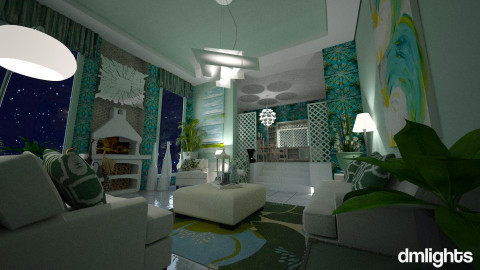 Seafoam - Classic - Living room - by Lackew