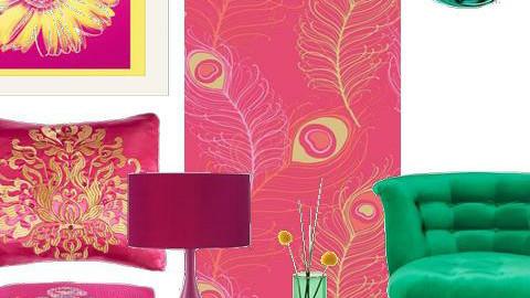 Jaded Pink - Feminine - Living room - by karma kitten
