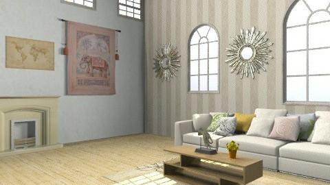 Living Room - Rustic - Living room - by emilypinnock