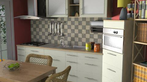 Pegli-kitchen - Glamour - Kitchen - by limina88