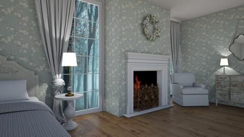 Shabby B - Bedroom - by rickglassinteriors