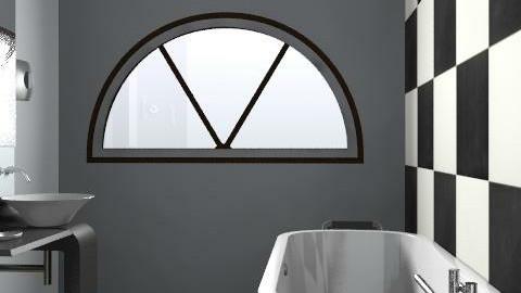 sleek bathroom! - Minimal - Bathroom - by slpowell