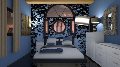Blue tree - Bedroom - by starbringer23