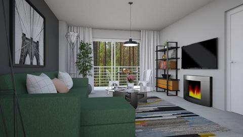 For adillhunt I - Eclectic - Living room - by Theadora
