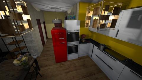 8 - Classic - Kitchen - by elawitkowska