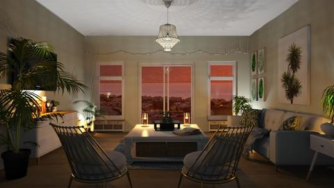 Island getaway - Living room - by elle rose