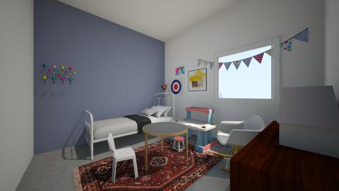 Ukon huone_1.1 - Kids room - by Essi_eames