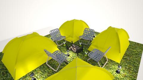 Camping 1 - Garden - by lemonheadx
