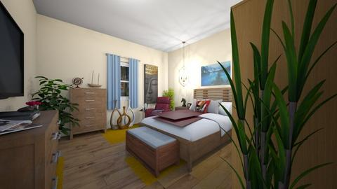 Clean Lines - Eclectic - Bedroom - by almecor2311