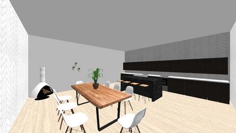 Scandinavian Kitchen - Modern - Kitchen - by Pretzel2008