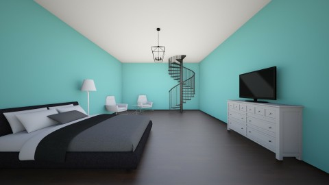 Basement Bedroom   - Bedroom - by Bethany Claire Pham