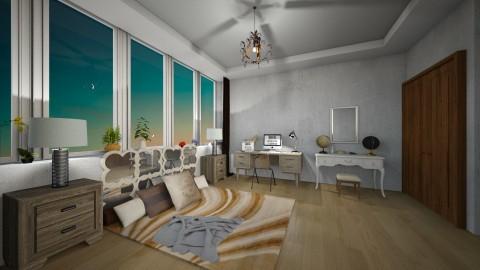 Floor Bedroom Condo - Eclectic - Bedroom - by Lifandus