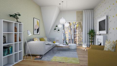 flat4_B - Modern - Living room - by levai_magdolna
