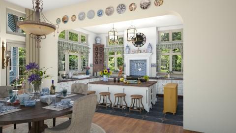 Open Kitchen - Classic - Kitchen - by JeroenBekkers