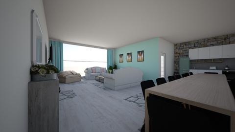 vakantiehuis  - Living room - by ginnystephanie
