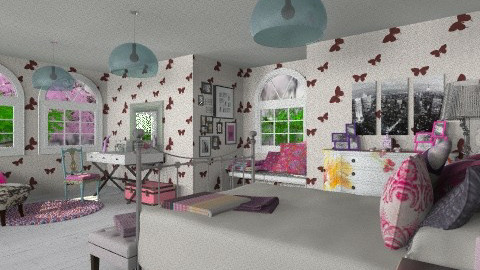 A secret can you keep it - Modern - Bedroom - by xoxfranklinxox