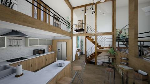 extreme kitchen - Modern - by James Ward_288