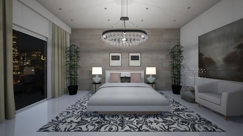 Modern Luxury - Bedroom - by Ginntare