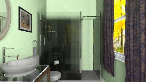 tiniest bathroom - Minimal - Bathroom - by PennyDreadful