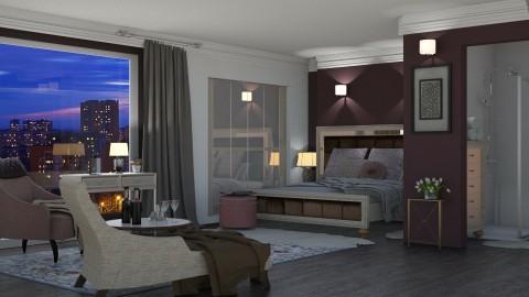 hotel room - by jolaskajp