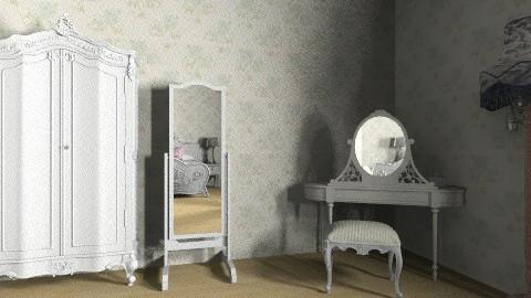vintage bedroom - Vintage - Bedroom - by kellydwiyanti