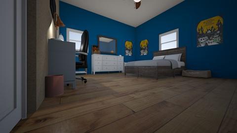 My new room - Bedroom - by Twenty1Pepes