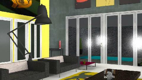 modern lounge - Modern - Living room - by nadege