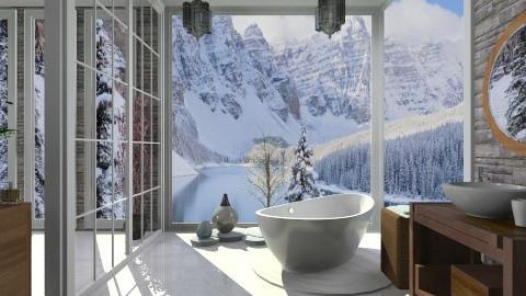 bathroom blue rmx - Eclectic - Bathroom - by mikaela7
