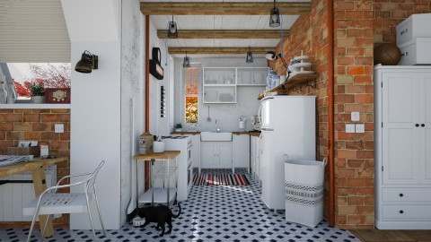 Beautiful Mess - Eclectic - Kitchen - by evahassing