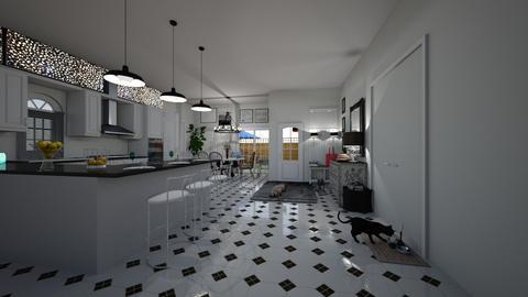 island kitchen - Kitchen - by hillygabe