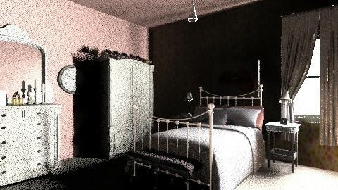 1940s Modern Bedroom 3 - Retro - Bedroom - by tillsa98