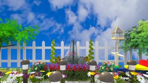 Lis Garden - Country - Garden - by mayalg2