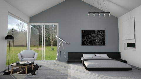 Bachelor Pad - Modern - Bedroom - by Faye Dela Cruz