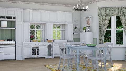 M_SC - Kitchen - by milyca8