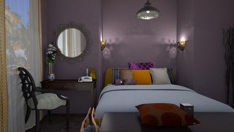 bocho - Bedroom - by alina shrayner
