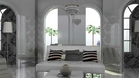 t - Glamour - Living room - by trees designs