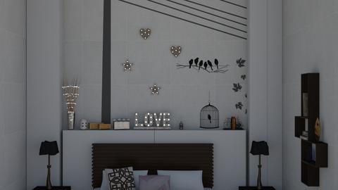 wall  - Living room - by maritaaslamazashvili