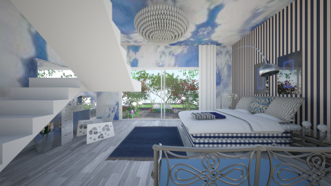 Hastens - Modern - Bedroom - by Saj Trinaest