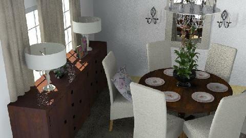 Formal Dining Room4 - Dining Room - by lmbenin