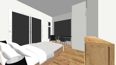 Bubu House 2md Floor - Minimal - Bedroom - by deanasor