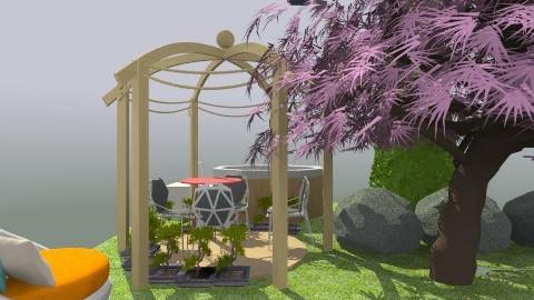 romantic - Glamour - Garden - by Nazaret Carriqui