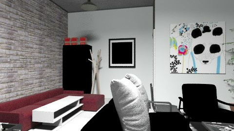 Office Games Room - Rustic - Office - by affytoffy