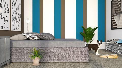 Modern Teen Bedroom - Modern - Bedroom - by millerfam